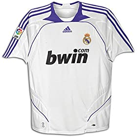 Official Real Madrid 08-09 Jersey Home
