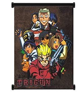 "Trigun Anime Fabric Wall Scroll Poster (16""x21"") Inches"
