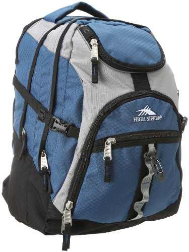 High Sierra Access Pack ,Navy/Ash/Black, 20X15X9.5-Inch