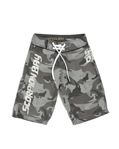 Scorpion Bay Shorts da Bagno Jsb [Grigio]