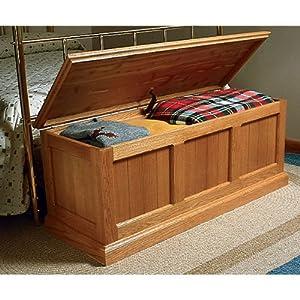 heirloom oak and cedar chest woodworking plan