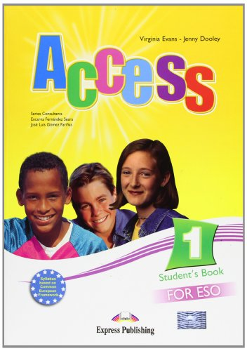 Access. 1º ESO - Student's Book 1 (Ejercicios + Gramática + CD)