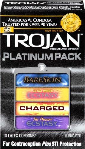 trojan-condom-platinum-pack-lubricated-10-count