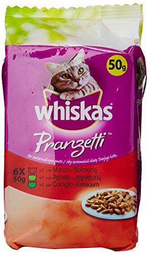 Whiskas Pranzetti Carni Miste Gr.50X6