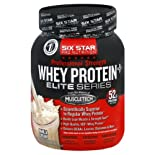 Six Star Pro Nutrition Elite Series Whey Protein Plus, Professional Strength, Vanilla Cream, 2 lb.