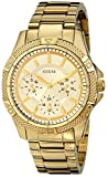 Guess Women's U0235L5 Gold Stainless-Steel Quartz Watch with Gold Dial