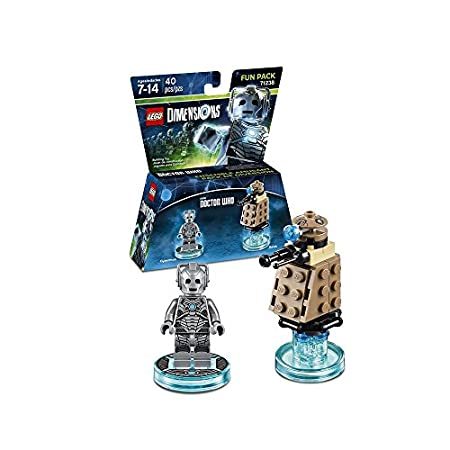 LEGO Dimensions, Doctor Who, Cyberman and Dalek Fun Pack