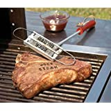 Genesis Seller BBQ Burger Branding Iron & Changeable Letters Barbecue Names Tool Steak Outdoor