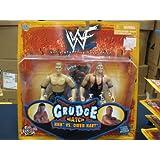 WWE Jakks Pacific Wrestling Action Figures Grudge Match Triple H vs. Owen Har...