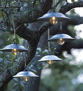 Caf Solar String Lights Vintage Outdoor String Lights