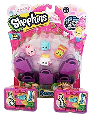 Shopkins Season 2 Bundle: 5 Pack & 2 Baskets by Moose