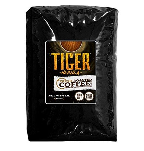 5 Lb. Bag, Tiger Nebula, Whole Bean Coffee, Fresh Roasted Coffee LLC (Tiger Coffee compare prices)