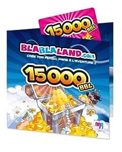 Carte Prépayée Blablaland 15 000 BBL