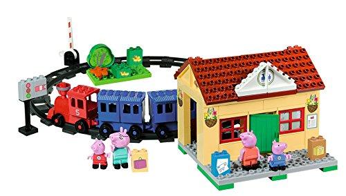 BIG 57079 – Playbig Bloxx Peppa Pig Zugstation online kaufen