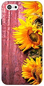 The Racoon Grip Fresh Sunflowers hard plastic printed back case / cover for Apple Iphone 6 Plus/6s Plus