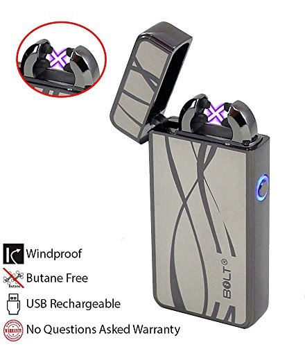 bolt-lighterr-usb-rechargeable-windproof-electric-plasma-dual-arc-lighter-set-with-usb-charging-cabl