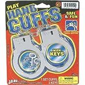 Play Hand Cuffs W/2 Keys By Ja-ra