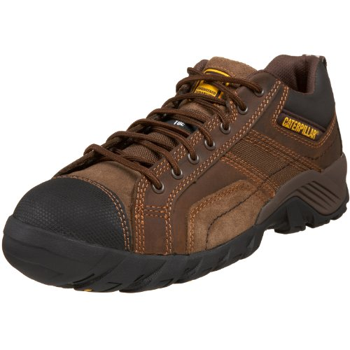 Caterpillar Men's Argon Composite-Toe Lace-Up Work Boot,Dark Brown,10.5 M US