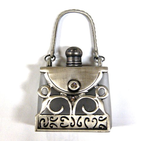 Rucci Antique Handbag Silver Perfume Bottle