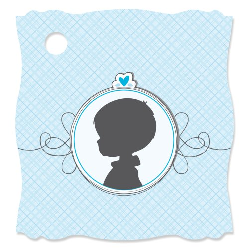Gender Reveal - Boy - Die-Cut Party Favor Gift Tags (Set Of 20) front-141833