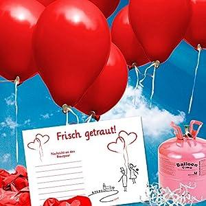 100 ballonflugkarten zur hochzeit gelocht portofrei. Black Bedroom Furniture Sets. Home Design Ideas