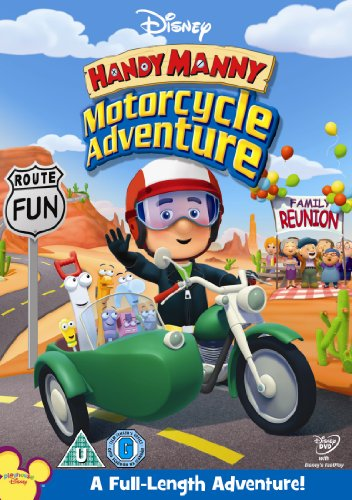 Handy Manny's Motorcycle Adventure [DVD]