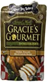 Three Dog Bakery Gracie's Gourmet Entree Food for Dogs, Chicken/Broccoli/Carrots/Rice, 12-Ounce
