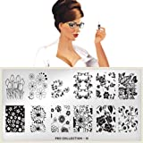 MoYou-London Nail Art Image Plate Pro XL Collection - 12