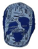 (ウォ2U)Woo2u キッズ 男の子 子供 春夏 紫外線 ハンチング帽子 スポーツデニム キャップ サンバイザー 野球帽 日焼け防止 鳥打ち帽 ブルー