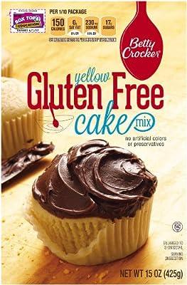 Betty Crocker Gluten Free Cake Mix, Yellow, 15 oz Box, 6 Pack by Betty Crocker Baking