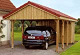 Skan Holz Carport Sauerland 380 x 600 cm kdi