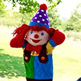 Happy Cherry Kids Babys King Size Plush Hand Puppet Doll Clown Hand Puppet Toys