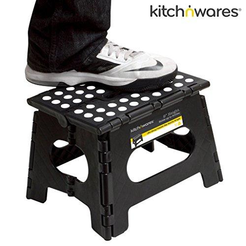 Kitch N Wares 11 Inch Heavy Duty Quality Folding Step