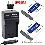 Kastar Battery (2-Pack) and Charger Kit for Sony NP-BD1, NP-FD1, BC-CSD, TRN, TRN-U work with Sony Cyber-shot DSC-G3, DSC-T2, DSC-T70, DSC-T75, DSC-T77, DSC-T90, DSC-T200, DSC-T300, DSC-T500, DSC-T700, DSC-T900, DSC-TX1 Cameras