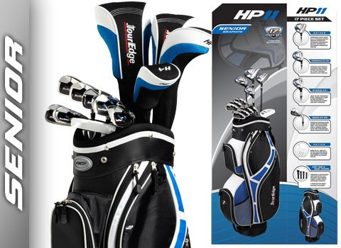 Tour Edge Men's HP-11 Senior Complete Set (Left Hand, Graphite, Senior, Complete Set)