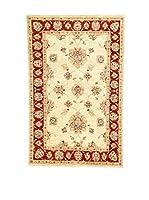 Eden Carpets Alfombra Zigler Beige/Rojo 152 x 98 cm