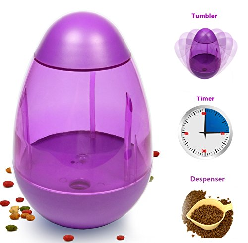 A-Travel-Dog-Bowl-with-Food-Dispensing-An-Interactive-IQ-Treat-Ball-with-Timer-for-Pet-Max-Capacity-of-1-liter-DT2016