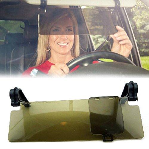 PIXNOR Durable Anti Glare Anti-dazzle Clip-on Auto Car Sun Visor Mirror Sun Shield (Sun Shield For Car Visor compare prices)