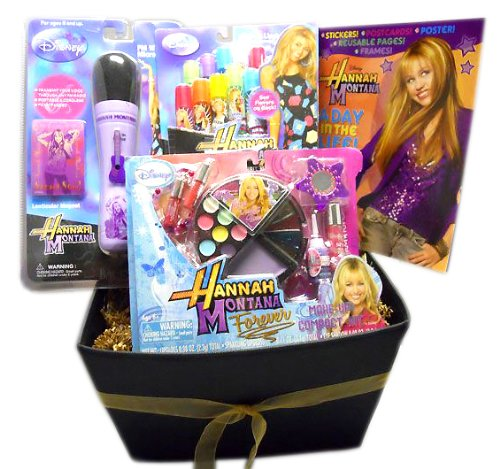Hannah Montana Activity Tote - Holiday or Any Occasion Gift Basket - for Girls