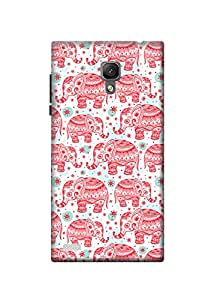 KanvasCases Ethnic Elephant Back Cover For Xiaomi Redmi Note