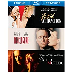 Michael Douglas: Triple Feature [Blu-ray]
