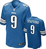 Matthew Stafford Jersey Home Blue Game Replica #9