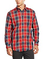 Casamoda Camisa Hombre (Rojo / Azul)