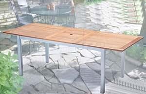 holz metall tisch lynx ausziehtisch 150. Black Bedroom Furniture Sets. Home Design Ideas
