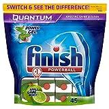 Finish Quantum Powerball Dishwasher Tablets Apple & Lime Blast (45)