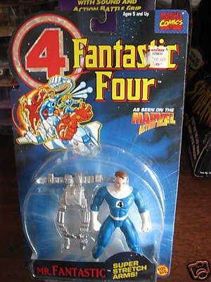 Fantastic Four Animated Series Mr. Fantastic Super Stretch Arms - 1
