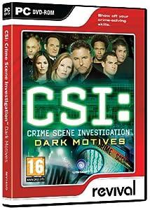 CSI: Crime Scene Investigation Dark Motives (PC DVD)