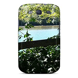 Amazon.com: New Premium Flip Case Cover Skagit River Fenced In Skin