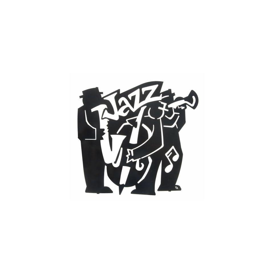 18 Lazart Metal Wall Art Wall Decor   Jazz