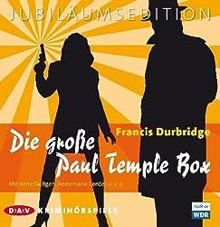 Die große Paul Temple Box: Krimihörspiele